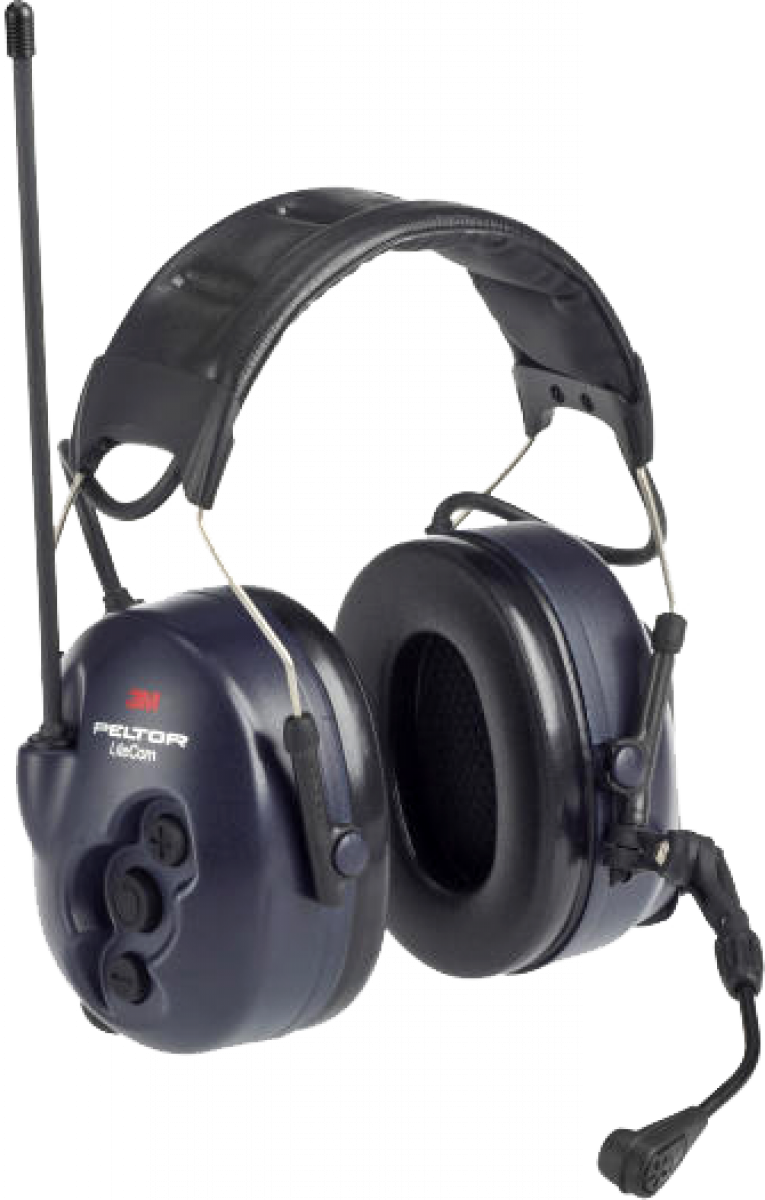 3m peltor litecom headset with integrated two way radio. Black Bedroom Furniture Sets. Home Design Ideas
