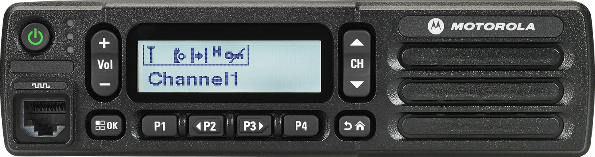 Motorola DM2600 - Simplified but capable mobile two-way
