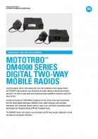 Motorola DM4000 series specifications preview 1