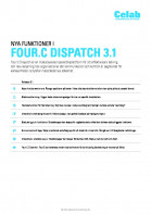Four:C Dispatch 3.1 release notes SV preview