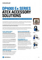 Motorola DP4000Ex accessory sheet preview 1