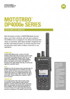 Motorola DP4000e series specifications preview 1