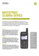 Motorola SL4000e specifications preview 1