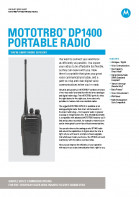 Motorola DP1400 specifications preview 1