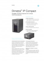 Motorola Dimetra IP Compact specifications preview 1
