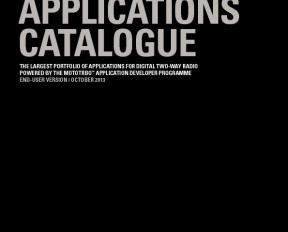 MOTOTRBO™ Applications Catalogue preview 1