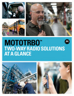 MOTOTRBO at a glance brochure preview 1