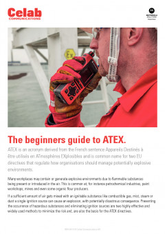 The beginners guide to ATEX preview 1