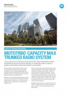 Motorola Capacity Max factsheet preview 1