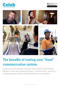 Benefits of renting your communications preview 1