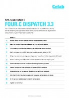 Four:C Dispatch 3.3 release notes preview