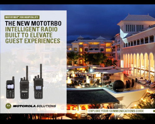 MOTOTRBO - Radios built to elevate guest experience preview 1