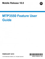 Motorola MTP3550 Feature User Guide MR18 preview 1