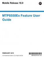 Motorola MTP8550Ex Feature User Guide MR18 preview 1